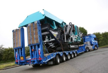 Mar-Train Takes Delivery of Five-Axle Extending Step Frame Trailer From Andover