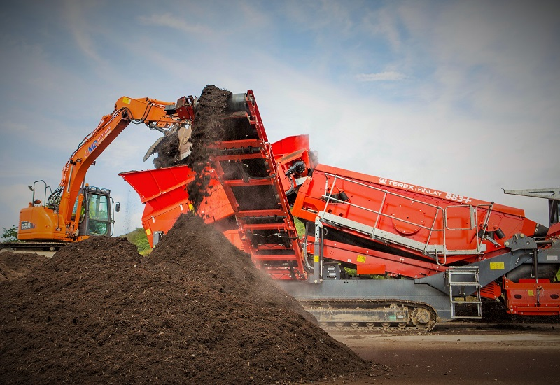 MD Recycling Ramps Up Production with Terex