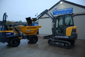 Bonthorne Purchases First Volvo Compact Excavator