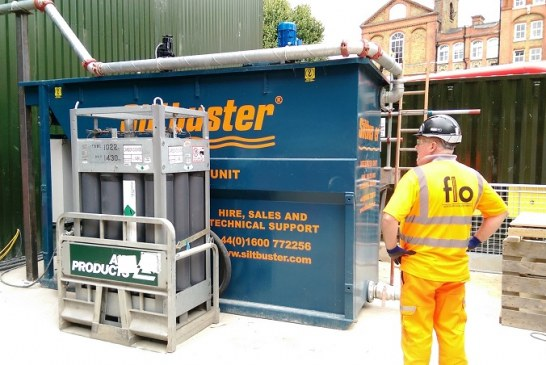 First Ever Siltbuster iHB20R Used on Northern Line Extension
