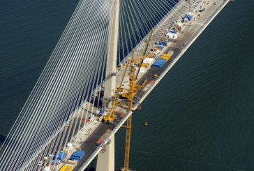 Queensferry Crossing Tower Cranes Come Down