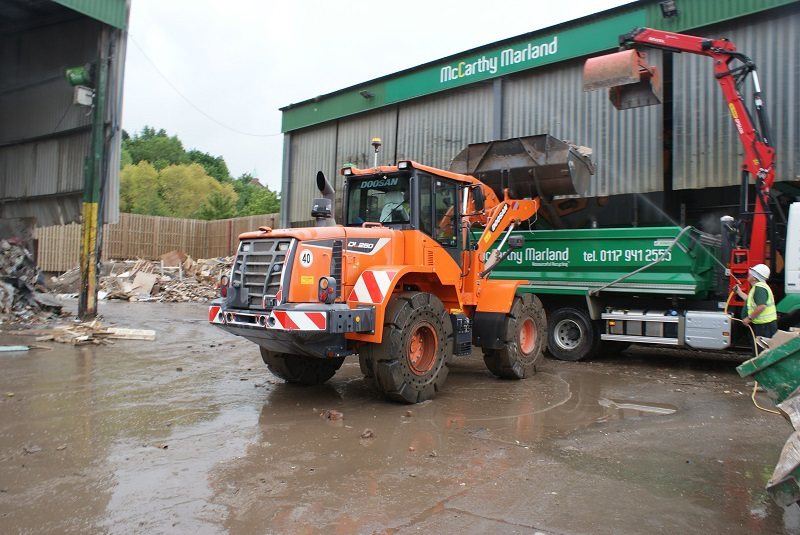 Leading Waste and Recycling Company Opts for Doosan