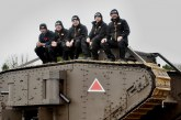 JCB Team Helps Engineer WW1 Tank Centenary Tribute