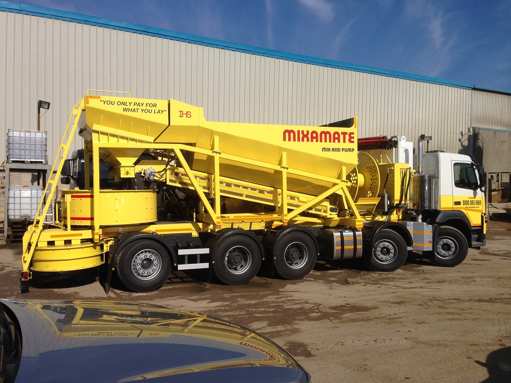 Mixamate Launches All-in-One Liquid Screeding Service