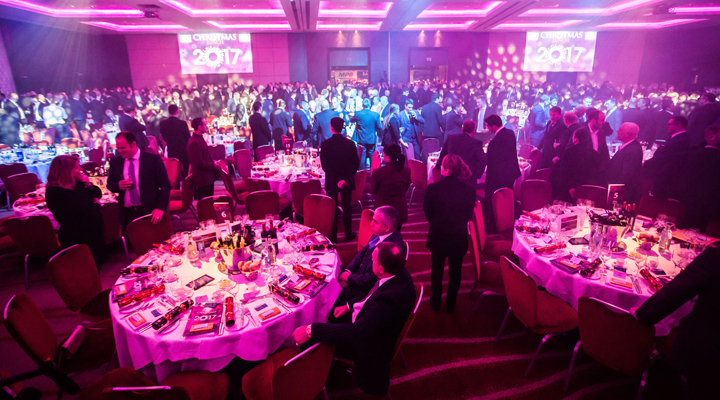 Construction Industry's Charity Christmas Lunch Smashes Fundraising Record