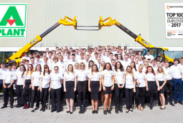A-Plant Among UK's Top 100 Apprenticeship Employers