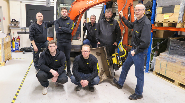 Engcon UK Has New Hub