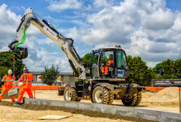 JCB Hydradig Hits the Road