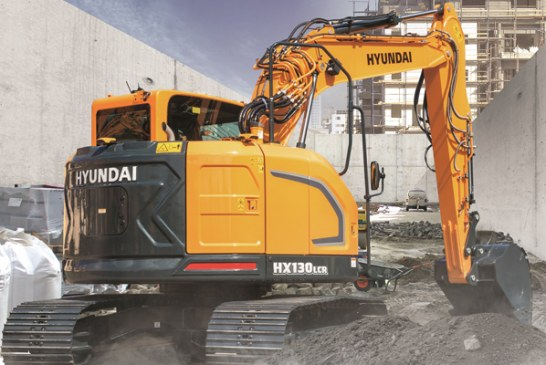 Hyundai Introduces Crawler Excavator