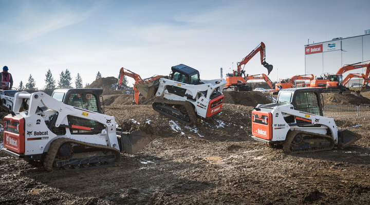 Double Celebration at Doosan Bobcat