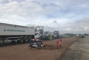 Aggregate Industries Secures A14 Surfacing Contract