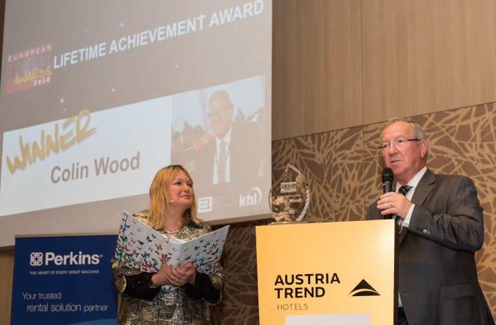 Lifetime Achievement Award for Colin Wood