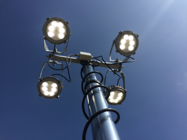 Hydrogen Fuel Cell Lighting for HS2