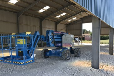 First Articulated Boom for Elvington Plant Hire