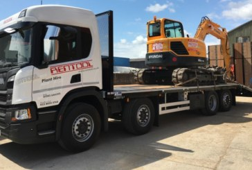 Rentool Backs Andover Trailers