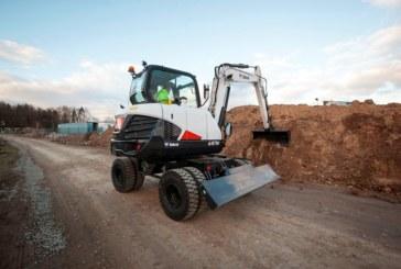 New Wheeled Excavator from Bobcat