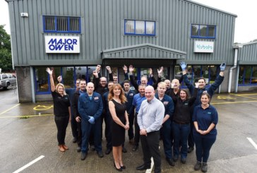 Major Owen Celebrates 30 Years Selling Kubota