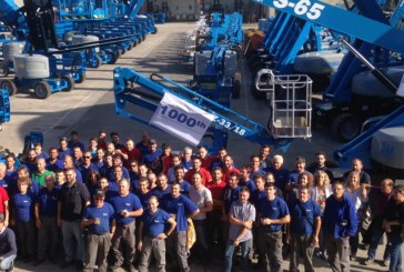 Genie Produces 1,000th Unit