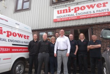 Uni-Power Celebrates 30 Years as a Kubota Engine Dealer