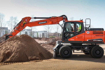 Doosan Heavy Equipment at Conexpo