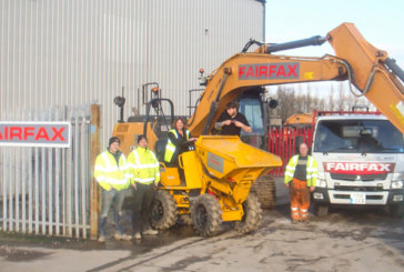 Fairfax Plant Hire Announces Depot Opening