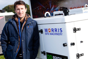 Morris Site Machinery Powers On