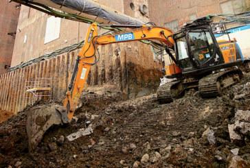 JCBs Help Power Battersea Development