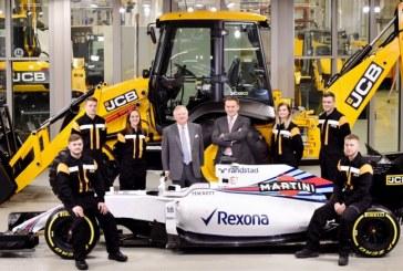 JCB Racing Partnership with Williams Martini