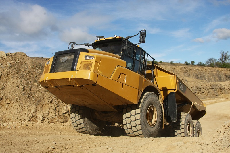 Pride Of Peterlee A Look At Cat S 745 Adt Construction