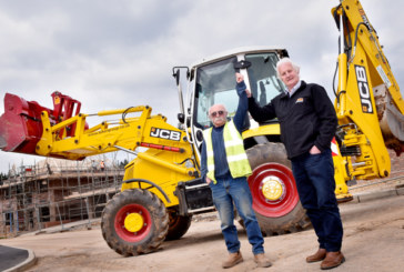 Digger Driver Celebrates 70th With JCB