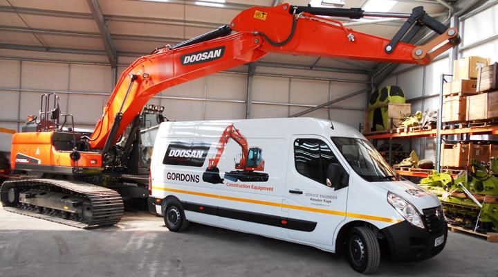 Doosan Lands New Scottish Dealer - Construction Plant News