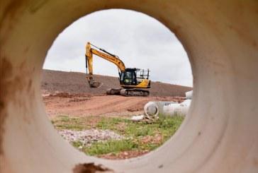 JCB Excavators Delivering Major Road Project Close to Home