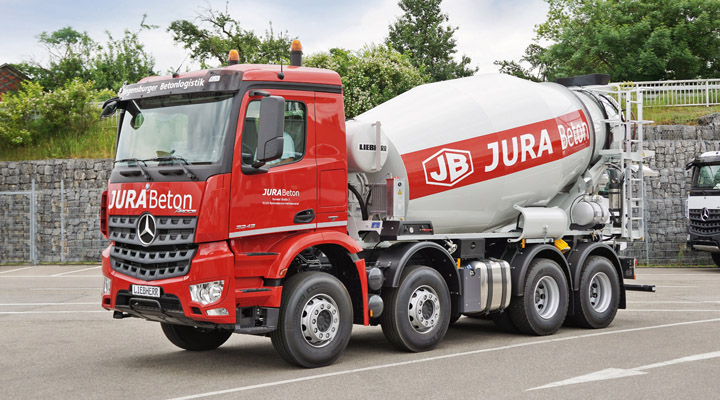 50 Years of Liebherr Truck Mixers
