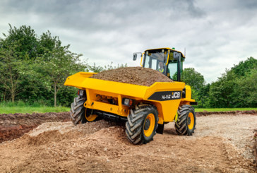 Production Starts of JCB Site Dumpers