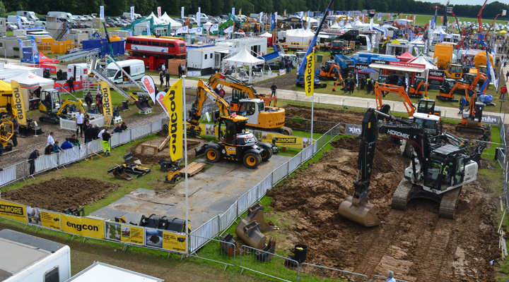 Construction Equipment Sales Increase