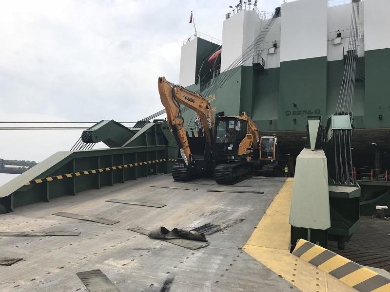 When the Boat Comes In: Hyundai Machines' Sea Journey