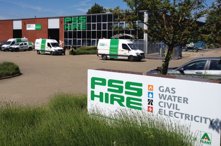 PSS Hire Opens Dunstable Flagship