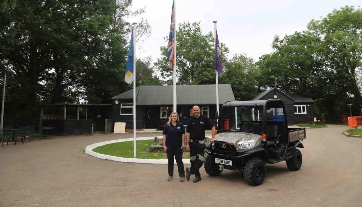 Kubota Supports Scout Camp