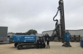 Sheet Piling Experts Take Delivery of World-First Rig