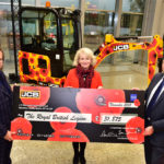 JCB Digs Deep for Royal British Legion Poppy Appeal