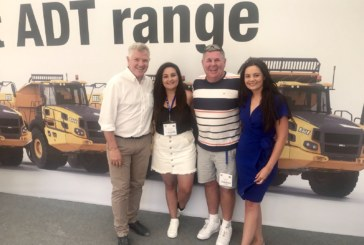 Finnegan Sisters Make Investment for the Future With Bell Equipment B30Es