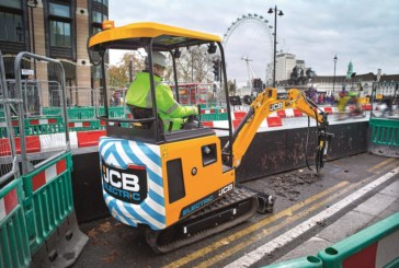 JCB Set to Make Electric Start in 2019
