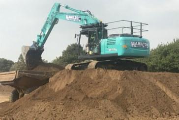 Hamilton Plant Hire makes multi-million pound investment to expand plant fleet