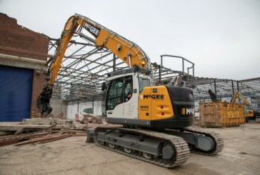McGee Puts UK's First Demolition Spec' Liebherr R 926 Compact to Work