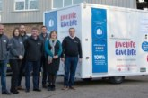 Welfare 4 Hire's 200th EasyCabin unit given to charity