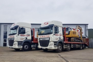 Skelton Plant Hire bolsters fleet with two bespoke plant bodies from Andover Trailers