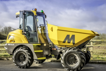 Mecalac's all-new MDX cabbed site dumper enters production