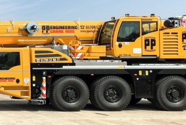 New Demag AC 100-4L for PP Engineering