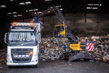 Grundon opt for Volvo's new Material Handler