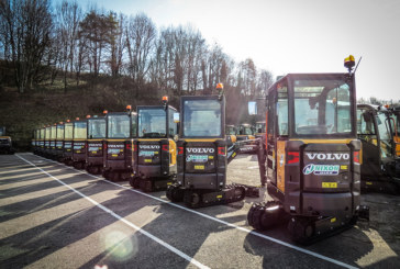 Nixon Hire take the first Volvo EC18Es to arrive in GB